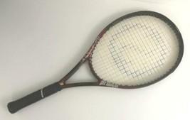 Prince ThunderStrike Titanium Oversize 110 4 3/8 grip Tennis Racquet - $79.19
