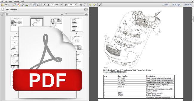 2008 ford edge manual pdf