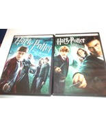 Lot of 2 Harry Potter DVD Movies: Half Blood Prince & The Order of the P... - $28.49
