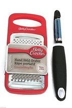 Grater and Vegetable Peeler Set Betty Crocker Handheld Container  - $71,71 MXN