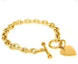 Noureda High Polished Gold Plated Noureda Stainless Steel Heart Charm Ca... - $35.08
