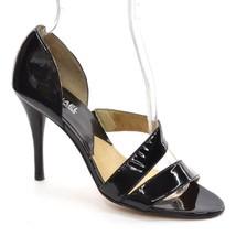 MICHAEL KORS High Heel Womens size 7 M Black Patent Double Strap Fashion... - $32.71
