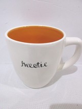 Rae Dunn SWEETIE Orange Interior Coffee Cup Mug LAST ONE!! - $18.99