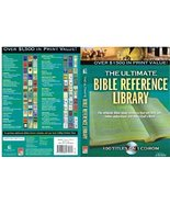 Ultimate Bible Reference Library Cd-rom (Thomas Nelson) [CD-ROM] Thomas ... - $72.77