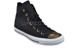 Womens Converse Chuck Taylor All Star Brush Off High-Top Sneaker Black 5... - $52.99