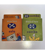 Cranium Cadoo Board Game For Kids Replacement Pieces Combo and Solo Card... - $12.87