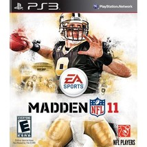 Refurbished Madden NFL 11 For PlayStation 3 PS3 Football With Case - $6.75