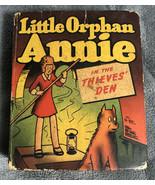 Little Orphan Annie in the Thieves' Den 1949 Big Little Book BLB #1446 W... - $14.84