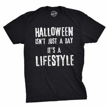 Mens Halloween Isnt Just A Day Its A Lifestyle Tshirt Funny October Holi... - £24.71 GBP