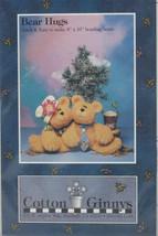 Bear Hugs by Cotton Ginnys Pattern Uncut New - $10.00