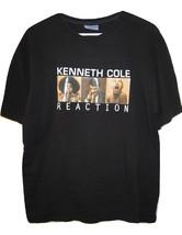 Kenneth Cole Reaction Actors Black RARE T Shirt Mens size M Medium USA Made - $9.89