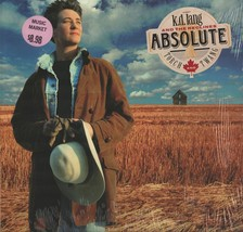 k.d. lang and the reclines Absolute Torch And Twang Vinyl Record Album - $14.99