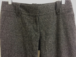 Ann Taylor Loft Marisa Tweed Trousers Pants 2 W... - $14.45