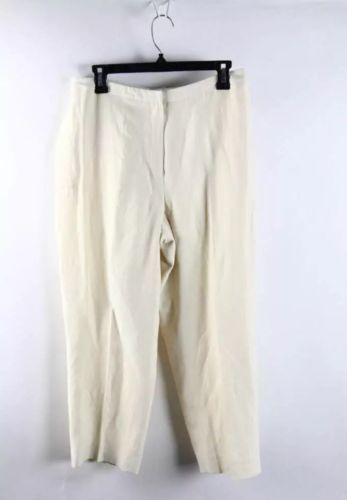 Jones New York Vanilla Mid-Rise Slim Fit Trouser Pants Size 12