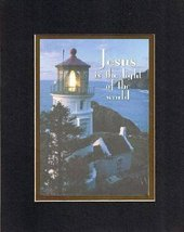 Jesus is the light of the world. . . 8 x 10 Inches Biblical/Religious Verses set - $11.14