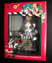 Matrix Christmas Ornament 1996 Looney Tunes Bugs Bunny In Directors Chair Boxed - $6.99