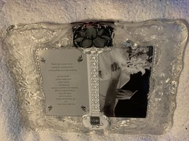 """Mikasa Cherished Moment 5"""" x 7"""" Crystal Frame Double Insert - $24.19"""