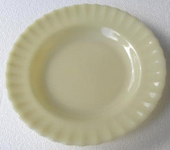 "Vintage Colorex SM Custard Color Collectible Glass Bowl 9 1/2"" - $15.99"