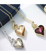 Necklaces & Pendants For Women - Austrian Crystal Rhinestones 4 Color He... - $28.15