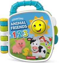 Fisher-Price - Laugh & Learn Counting Animal Friends Learning Book - Blue - $12.21