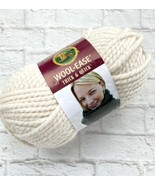 Lion Brand Wool-Ease Thick & Quick Yarn Fisherman Super Bulky 640 Off White - $7.62