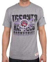 Mitchell & Ness Mens Basketball NBA Toronto Raptor Backboard Breaker T-Shirt NWT