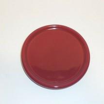 Longaberger Candle Coaster Lid Jewelry Holder Plate Coffee Cup EUC Paprika - $11.83