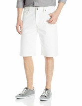 Levi's Men's 569 Loose Straight Short, El Short WHITE, SZ 34 - $33.24