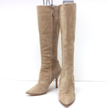 AUTHENTIC LOUIS VUITTON Suede Long Boots Beige Size5 - $250.00