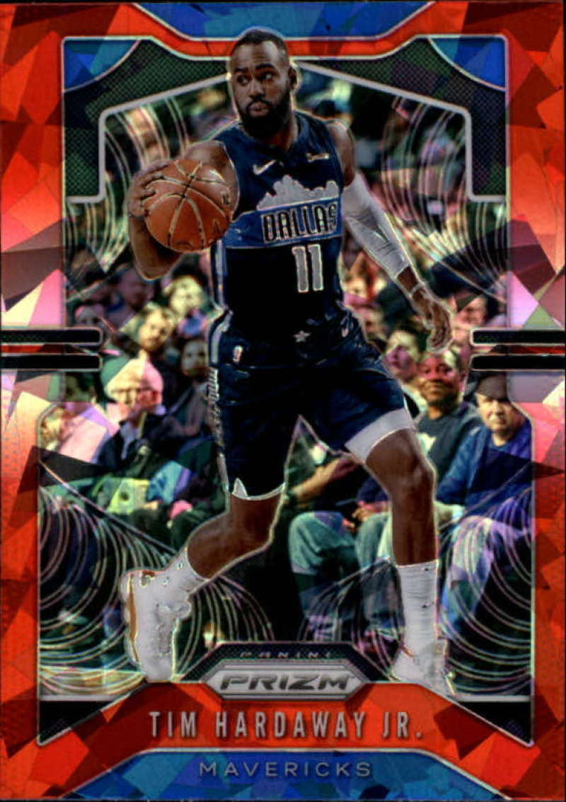 Primary image for 2019-20 Panini Prizm Prizms Red Ice #77 Tim Hardaway Jr. Dallas Mavericks