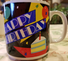 HAPPY BIRTHDAY COFFEE MUG, CUP COFFEE MUG, CUP - $15.00