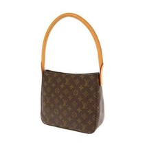 LOUIS VUITTON Looping MM Monogram Canvas Shoulder Bag Handbag M51146 France - $650.50