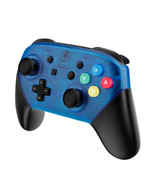 Nintendo Switch Pro Controller Replacement Housing Shell Case Blue Tools... - $32.62