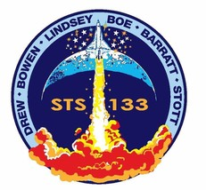 STS-133 Nasa Discovery Sticker M567 Space Program - $1.45+