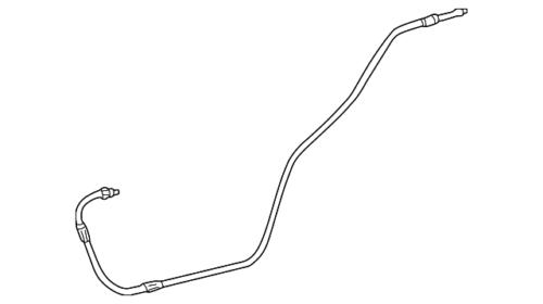 Genuine Mercedes-Benz AC Hoses 202-830-33-15