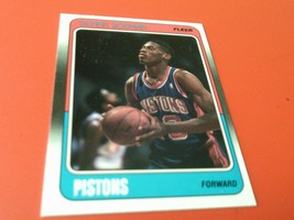 1988 /89  DENNIS  RODMAN  ROOKIE  FLEER  PISTONS  BASKETBALL# 43   MINT ... - $24.99