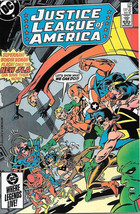 Justice League of America Comic Book #238, DC Comics 1985 NEAR MINT NEW ... - $5.94