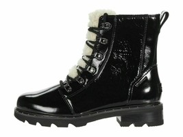 Sorel Lennox Lace Cozy Black Patent Women's Winter Boots 1929861010 - $179.00