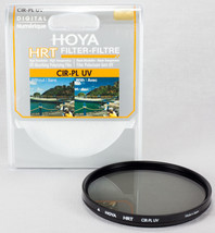 Hoya HRT 52mm Circular Polarizer CPL / UV Absor... - $34.77