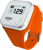 Wristband for GolfBuddy GPS Rangefinder Voice, Small, Orange - $36.25