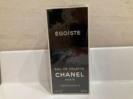 Rare Vintage 1992 Chanel Egoiste Edt 3.3oz/ 100ml Spray Sealed - $246.51