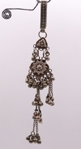 Vintage Old Silver Waist Key Chain Chhlla Fabulous Waist Belly Dance Jingle Bell - $106.91