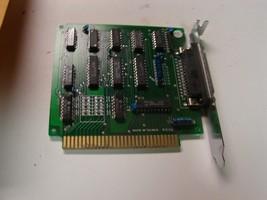 Parallel printer port 8 bit isa card db25 vintage - $11.88