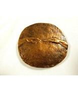 VTG Rare Bronze medal plaque AKADEMIA SZTUK PIĘKNYCH 1818-1968 B. Chromy - $95.04