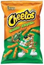 Cheetos, Cheddar Jalapeno Crunchy - 8.5 oz (Pack of 4) - $28.48