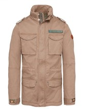 TIMBERLAND MEN'S CROCKER MOUNTAIN M65 JACKET LIGHT BROWN SIZE XL - $149.59