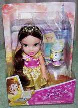 "Disney Princess Petite Belle & Chip 6"" Doll New - $17.50"