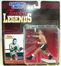 Joe Louis Boxing Action Figure Timeless Legends Starting Lineup 1994 SLU... - $12.59