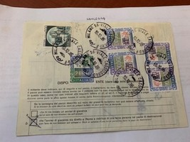 Italy several definitive stamps on piece 1986 - $14.95