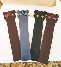 NEW COACH LEATHER BOOKMARK Choice of 1 Outlaw, Fuzz, or Ace image 8